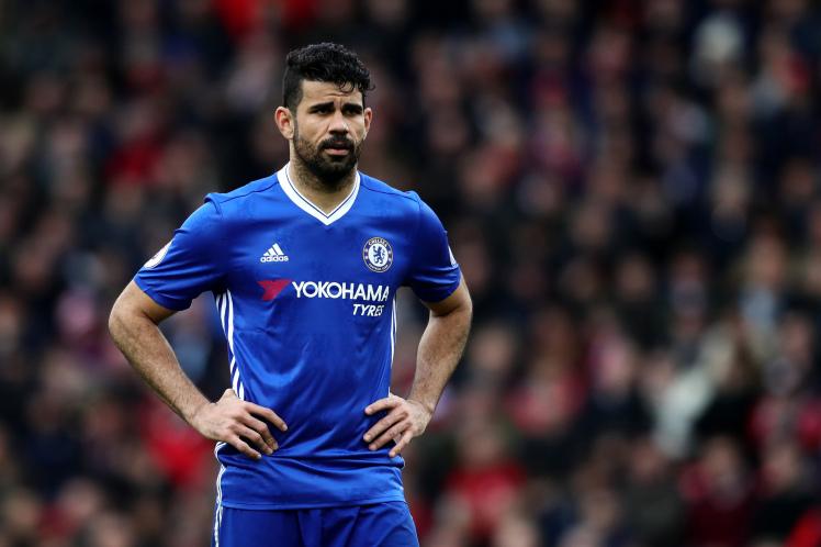 Chelsea lỗ mất 17 triệu vì Diego Costa