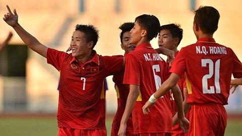 U16 Việt Nam Chính thức có vé tham dự VCK Châu Á 2018
