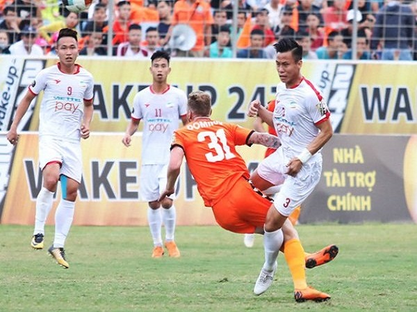 Các tuyển thủ Việt Nam đang lận đận
