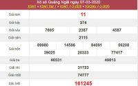 Soi cầu kết quả XSQNG 14/3/2020 - Dự đoán KQXS Quảng Ngãi