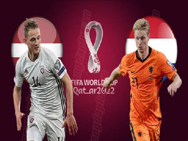Soi kèo Latvia vs Hà Lan 9/10